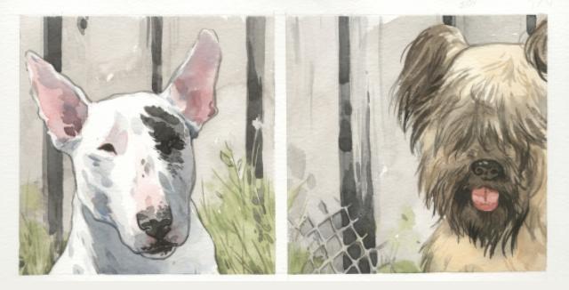 Jill Thompson's animal art is rather beautiful