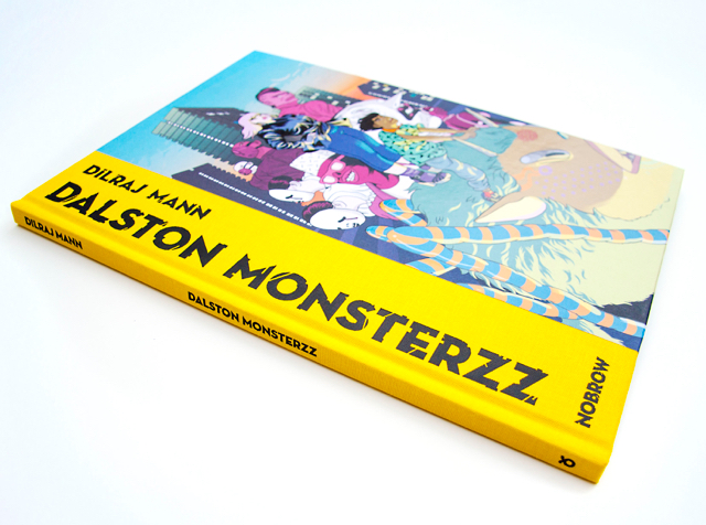 A beautiful book as always. Nobrow have the know-how