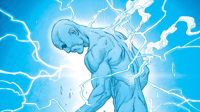 Dr Manhattan - He's in it for a bit but not much