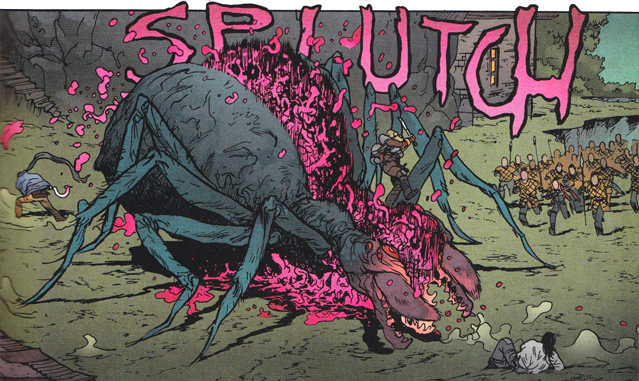 No arachnophobia here