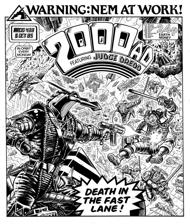 Nemesis the warlock - 2000AD cover