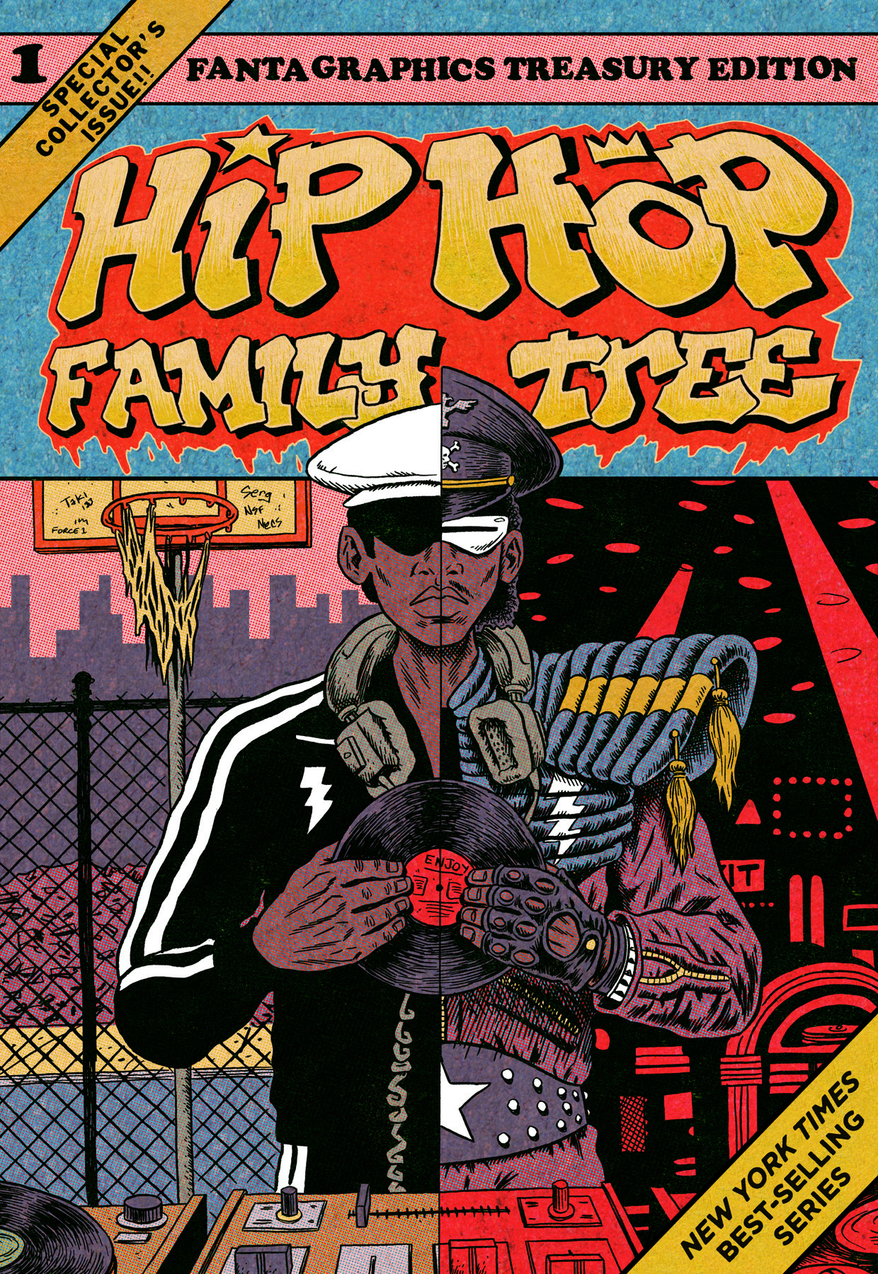 Tom's version of Hip Hop Family Tree Volume 1