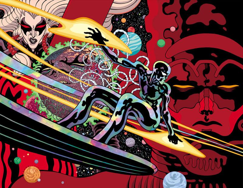 Silver Surfer: Black