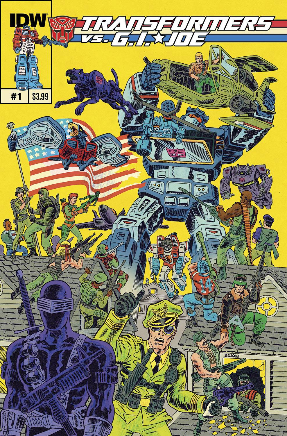 Transformers vs GI Joe Volume 1