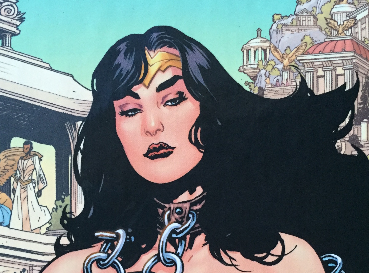 Wonder Woman Earth One by Grant Morrison and Yanick Paquette